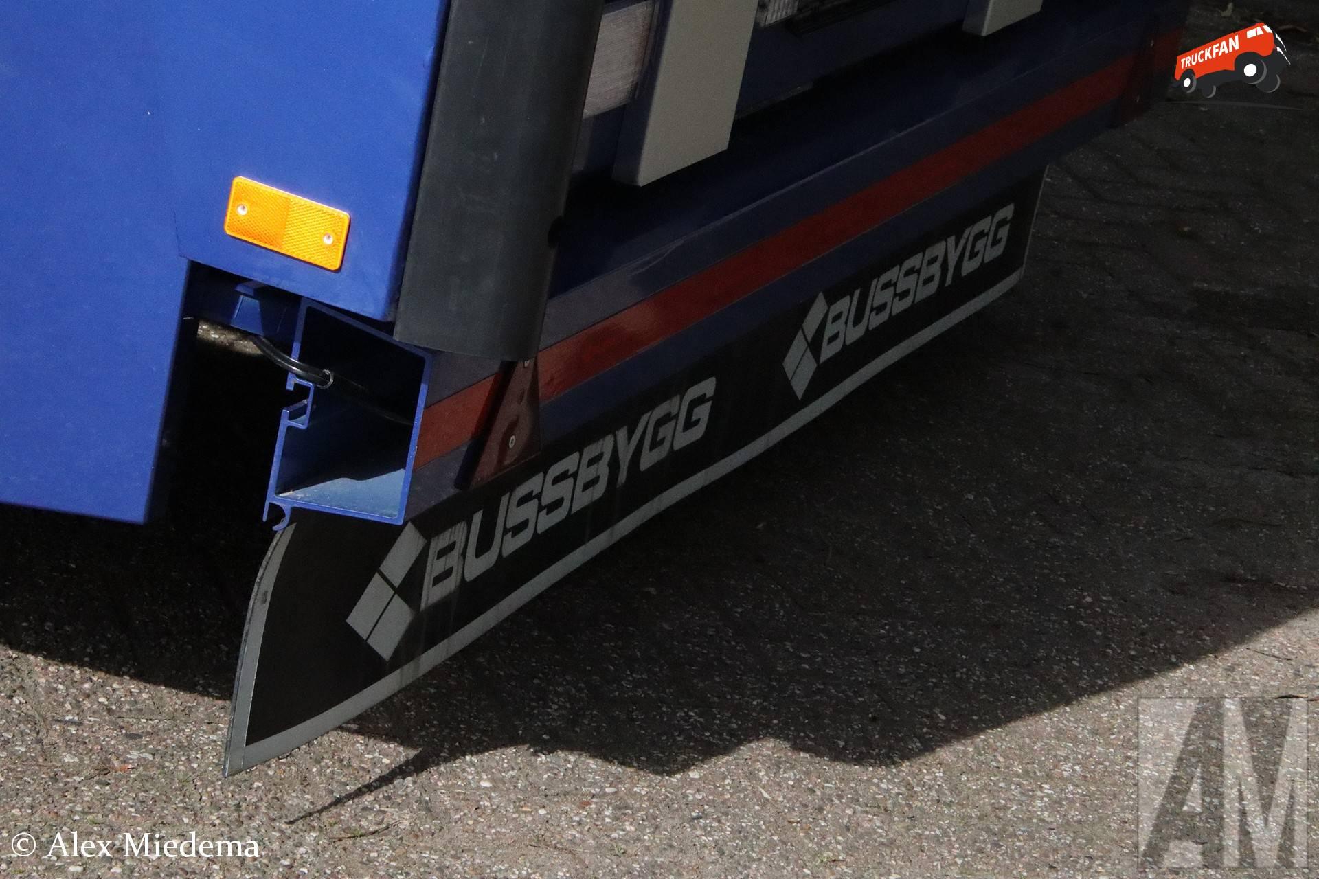 Bussbygg aanhangwagen