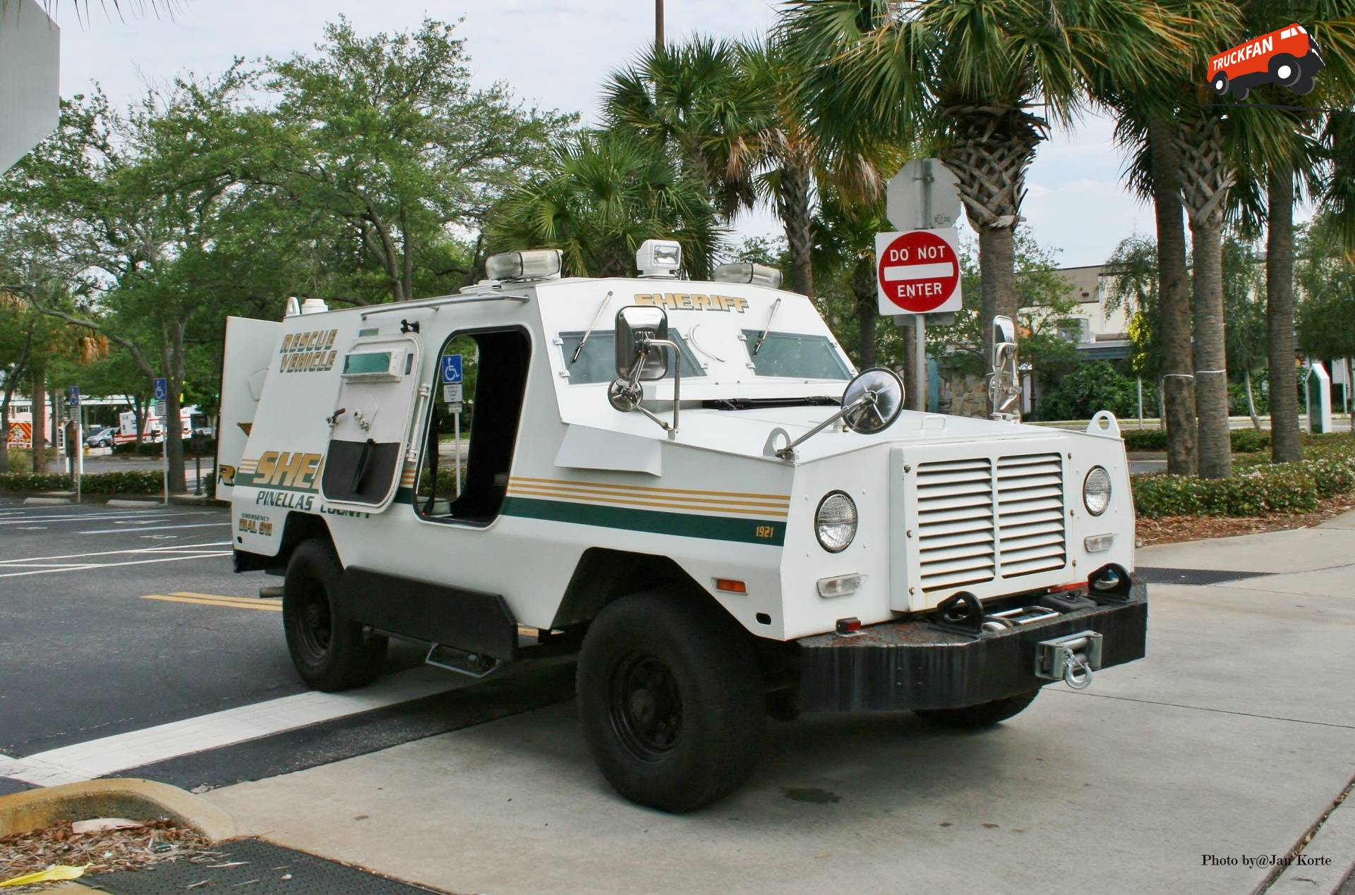 Peacekeeper Armored Rescue Vehicle