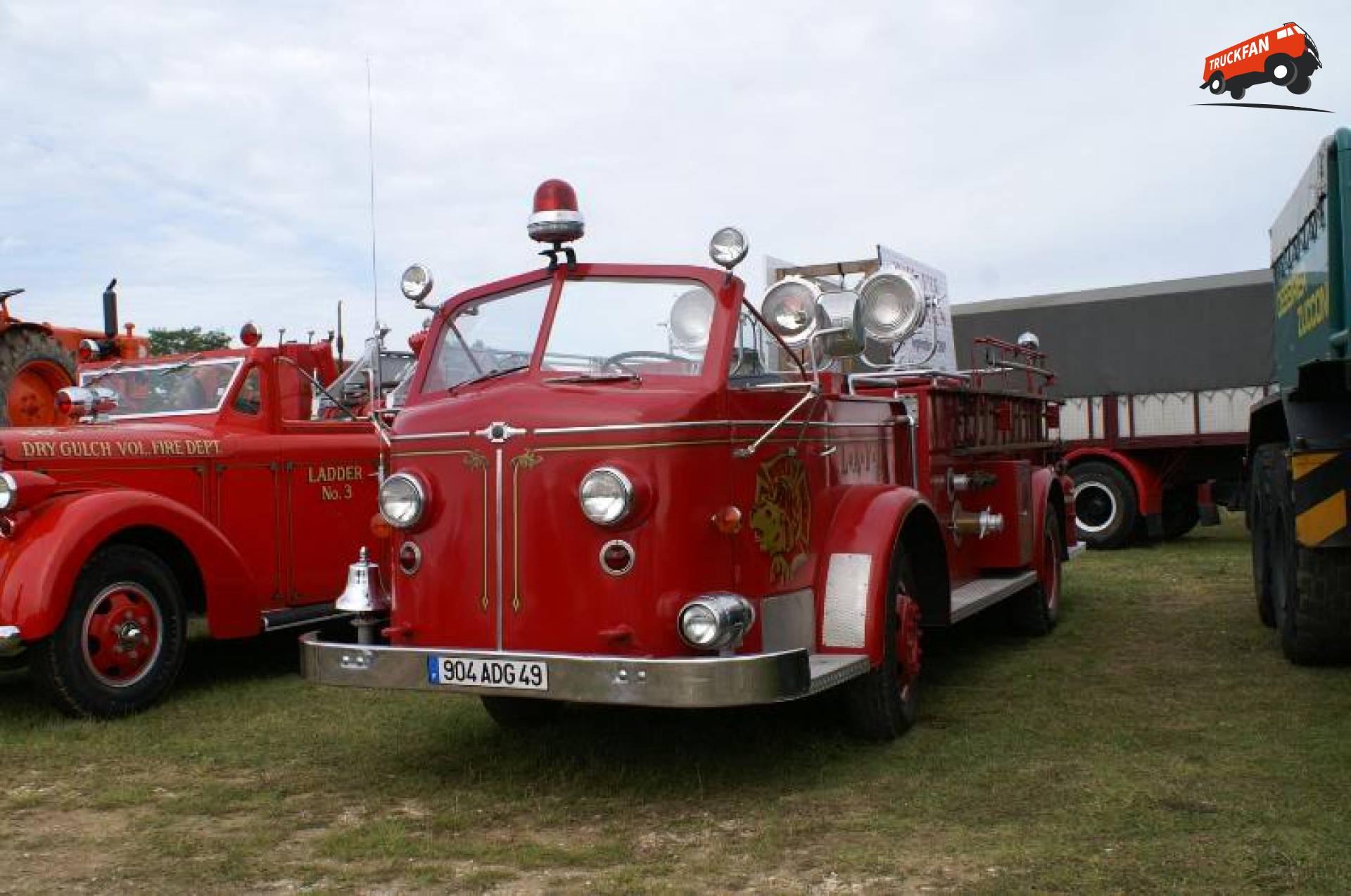 American LaFrance brandweerwagen
