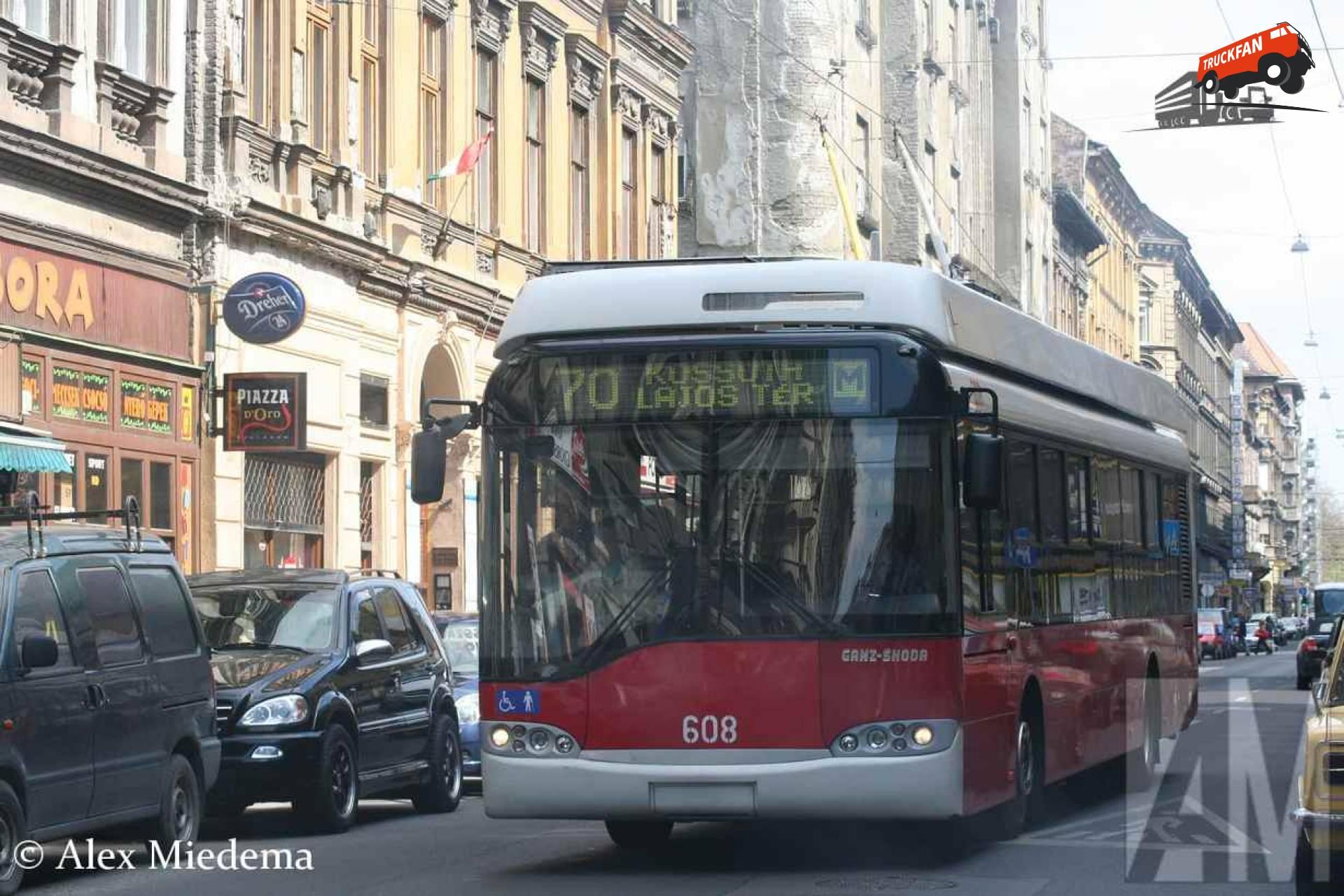 Ganz-Skoda trolleybus