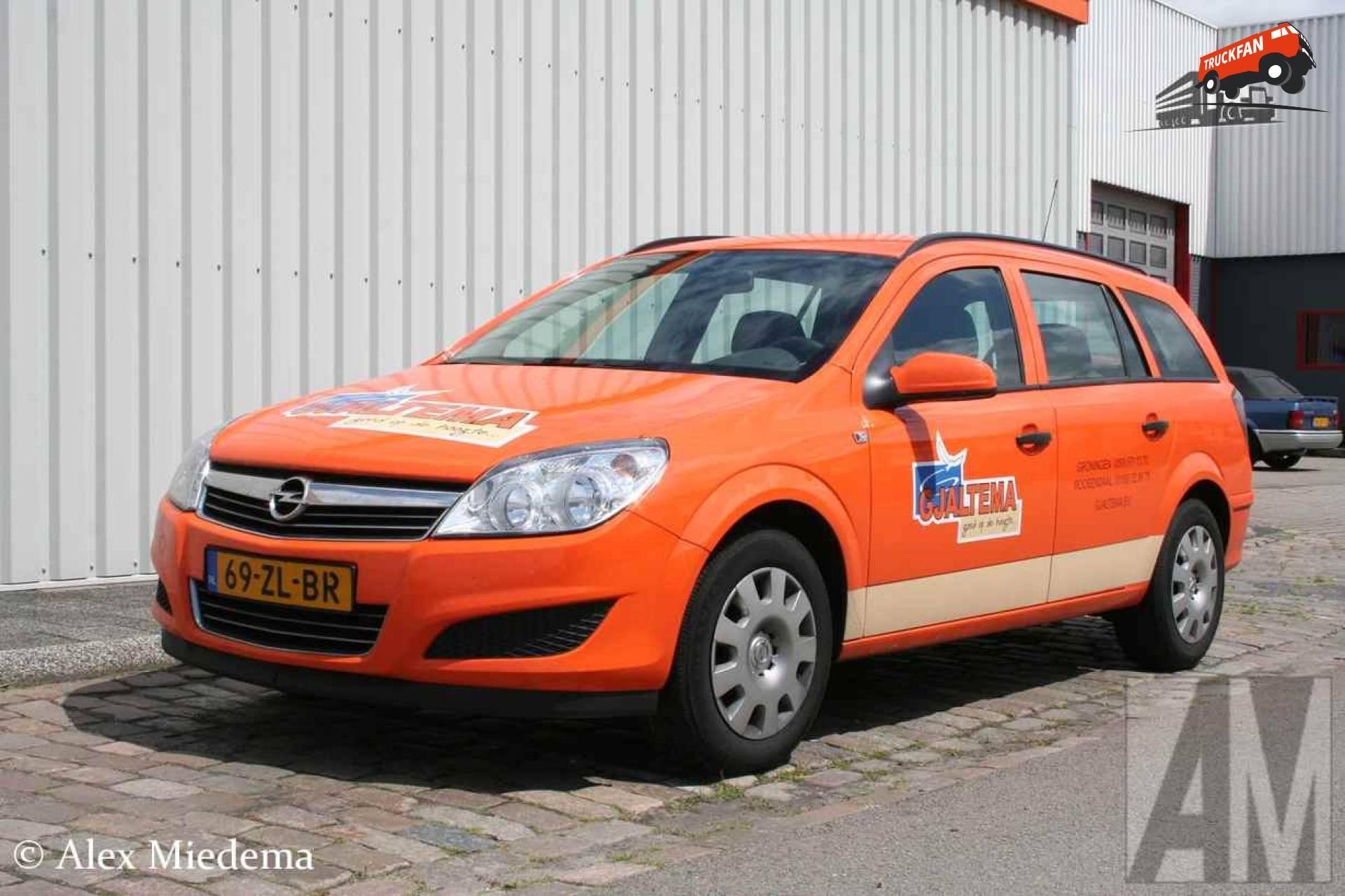 Foto Opel Astra van Gjaltema Verhuur