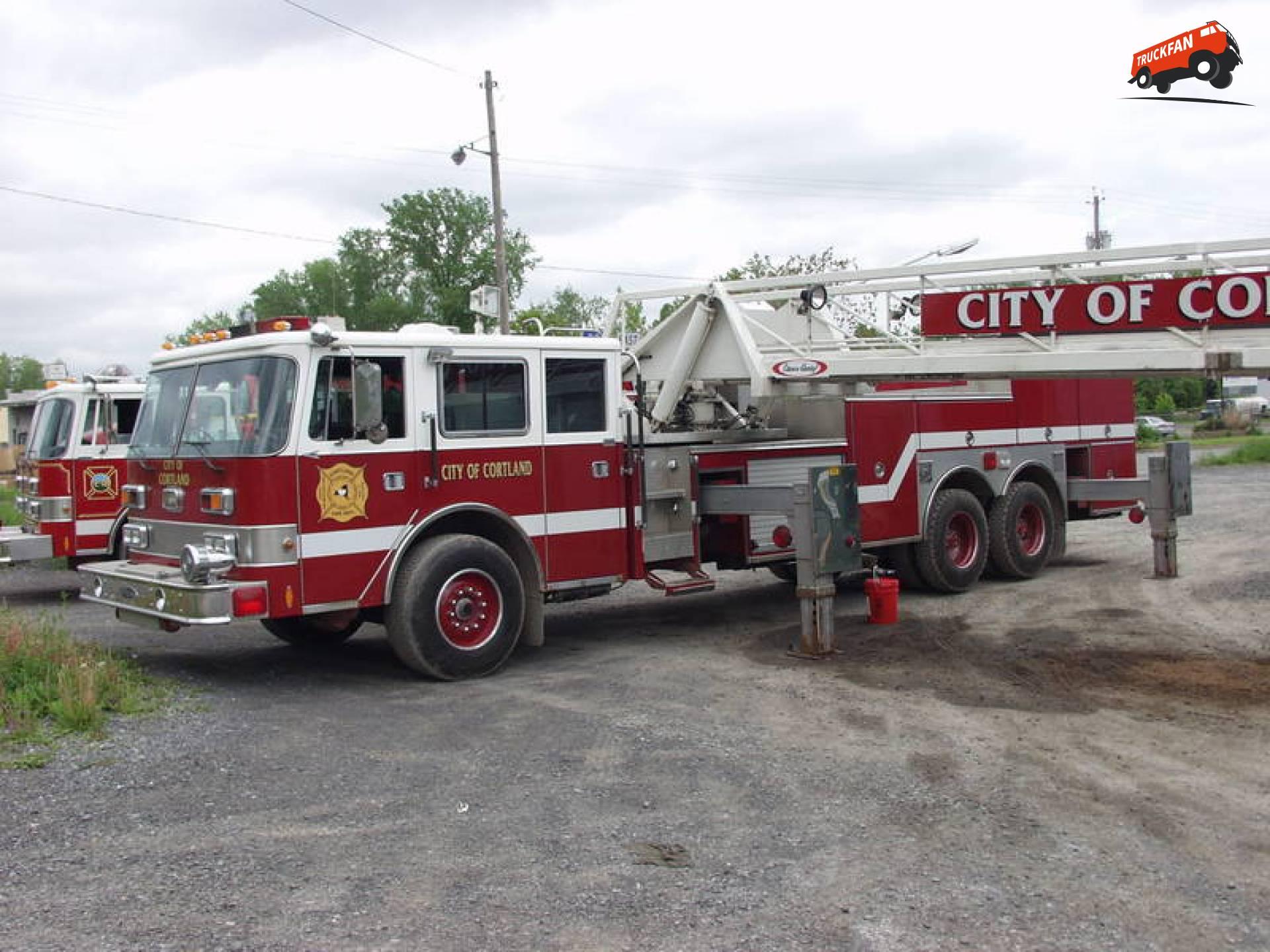 Pierce brandweerwagen