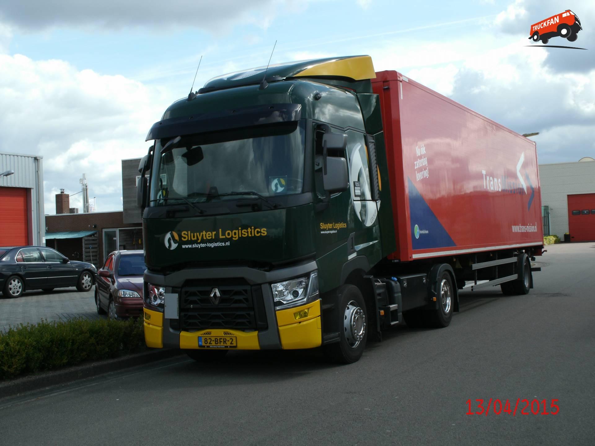 Foto Renault T-serie van Sluyter Logistics Holding B.V.