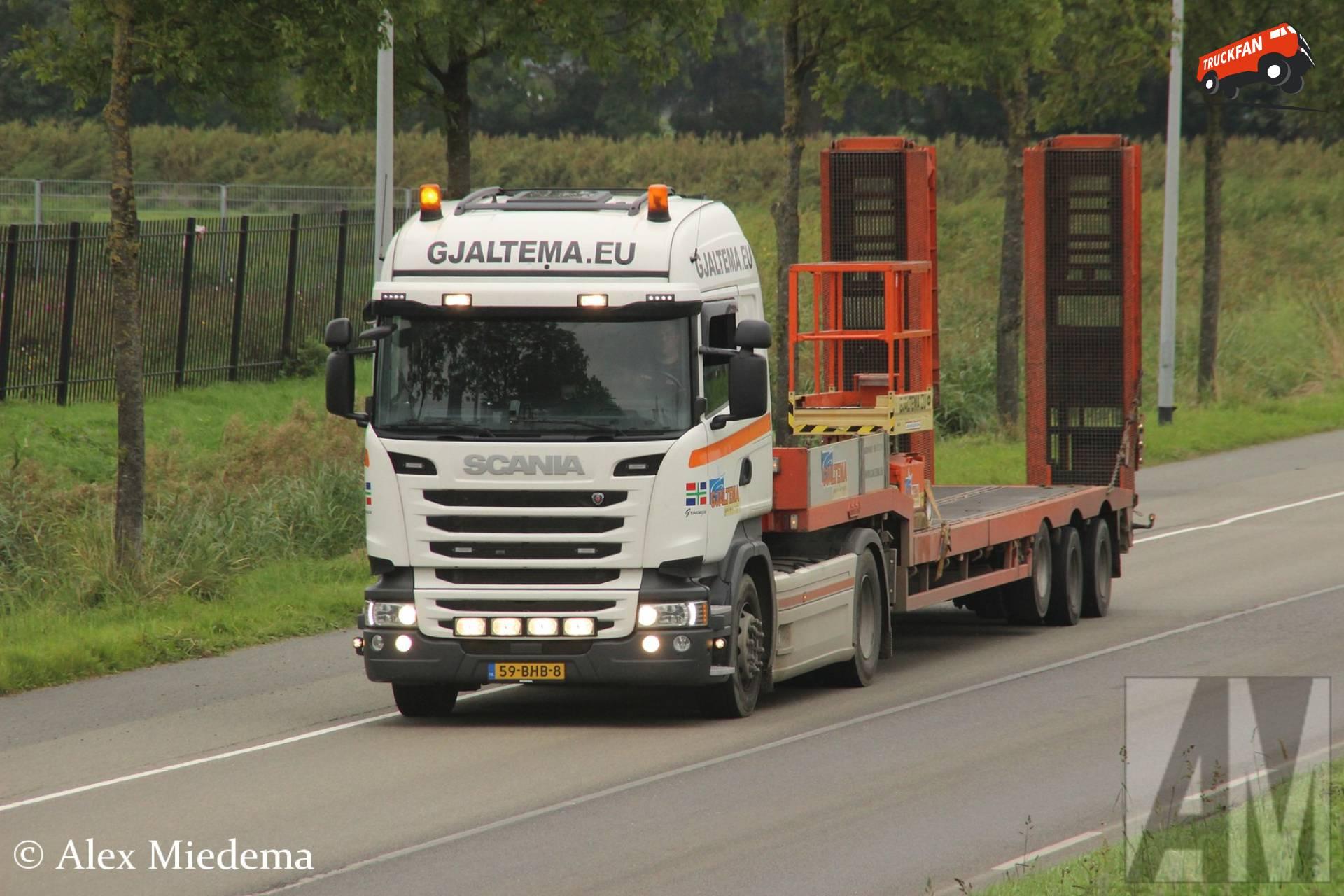 Foto Scania R410 van Gjaltema Verhuur