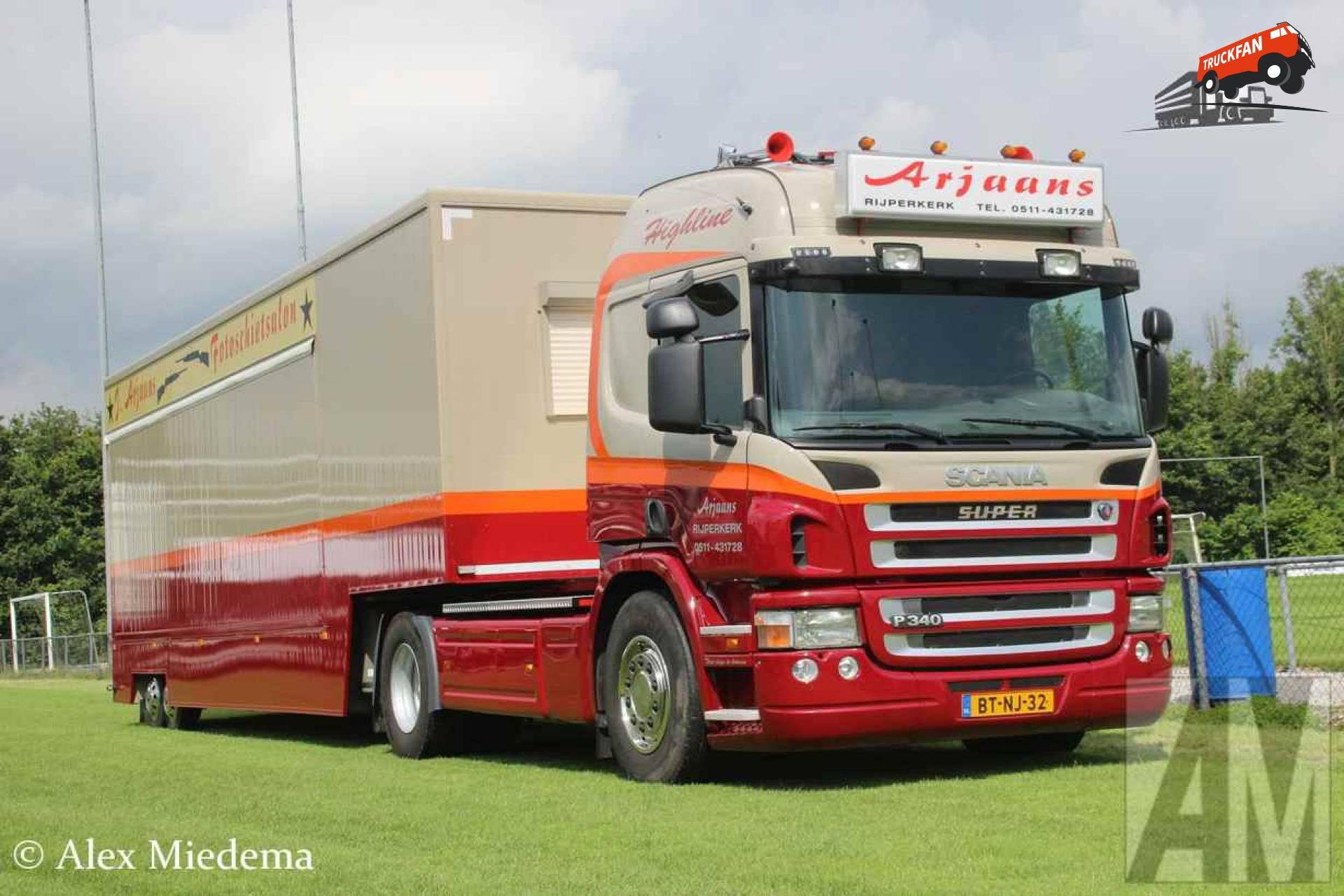 Scania P340