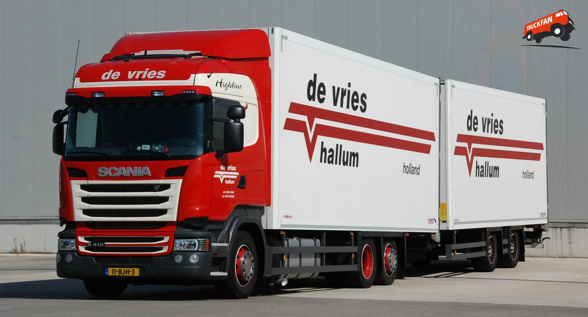 Scania R-serie Streamline