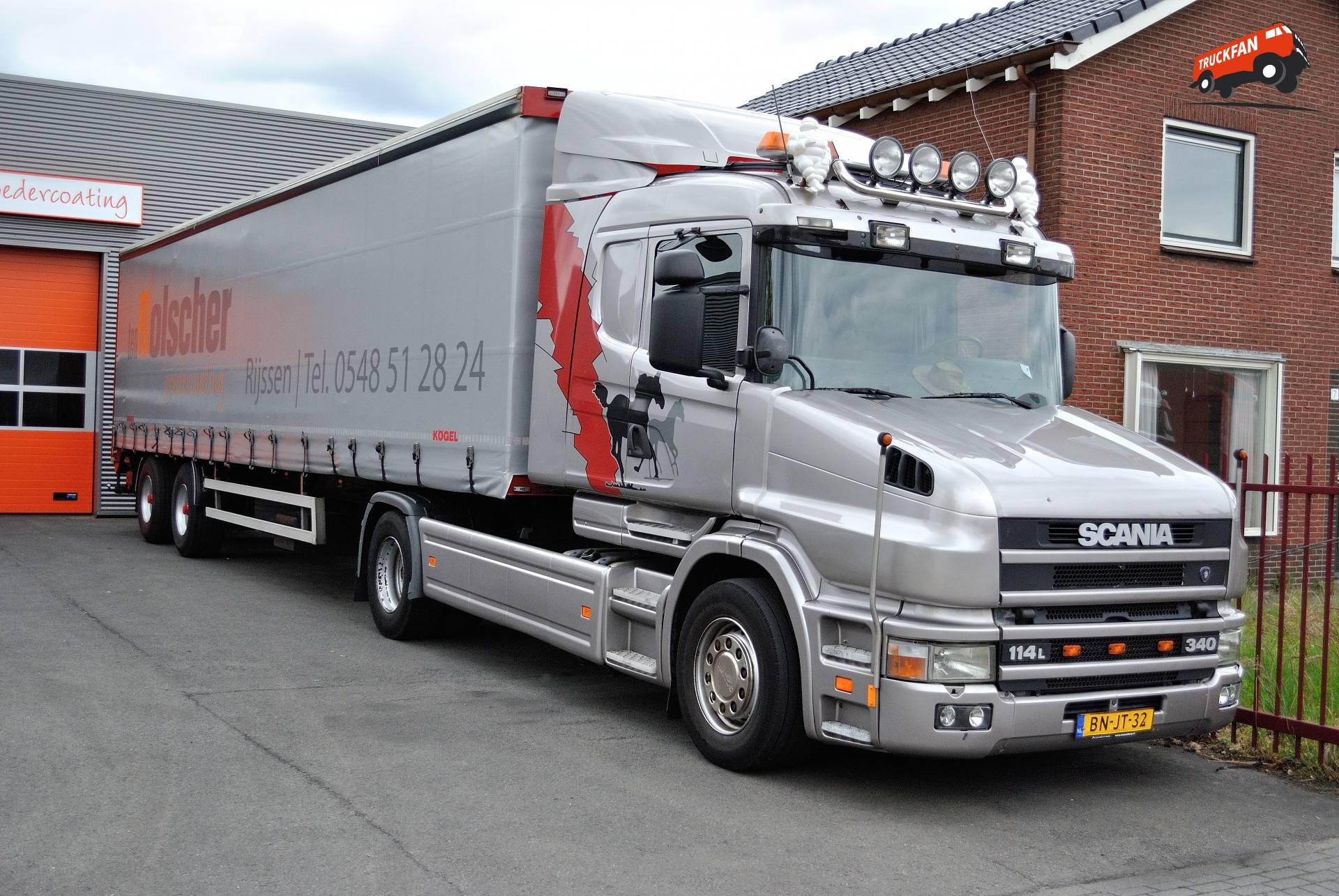 Scania T114