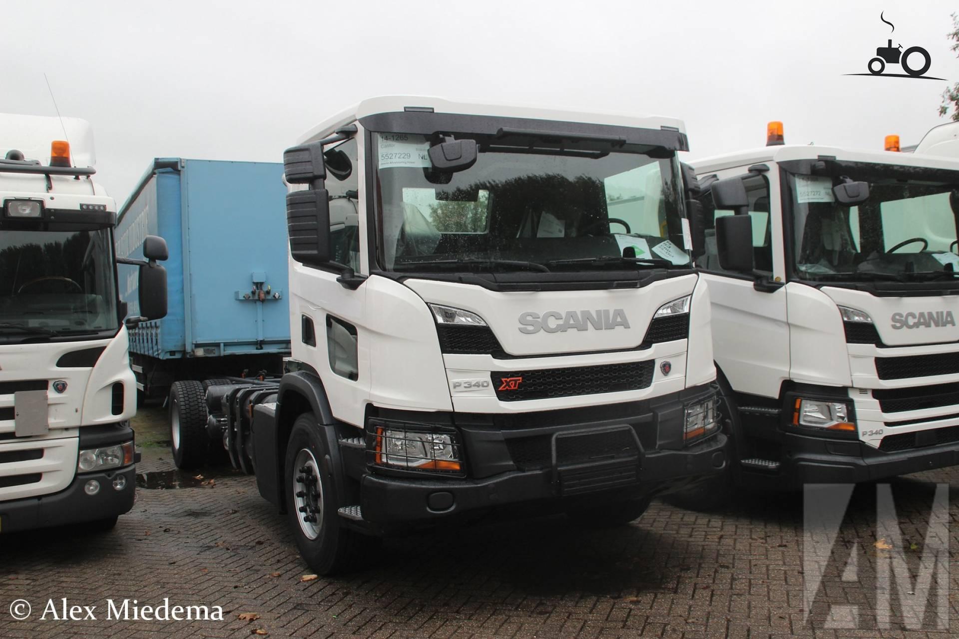 Scania P340 XT