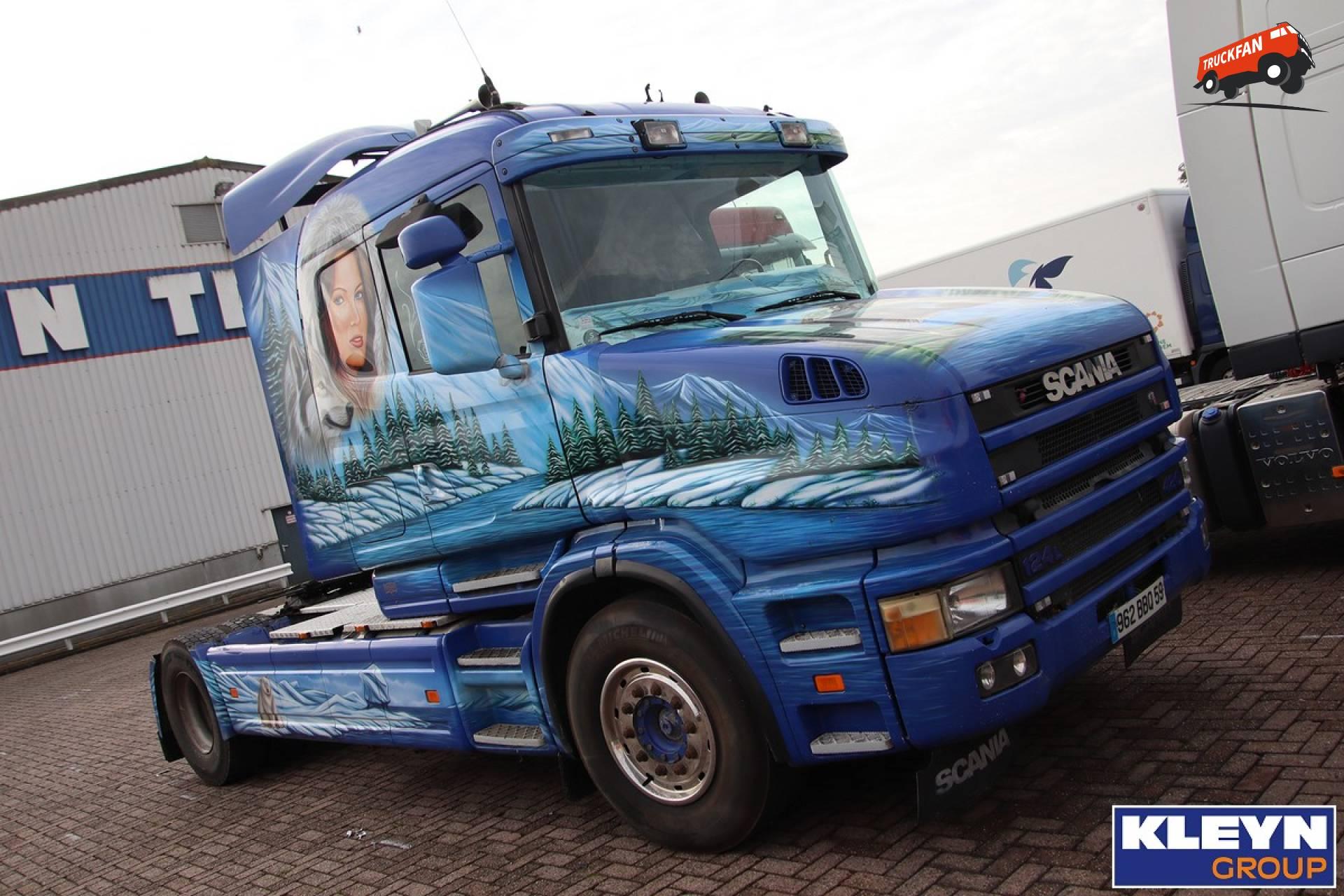 Scania T124