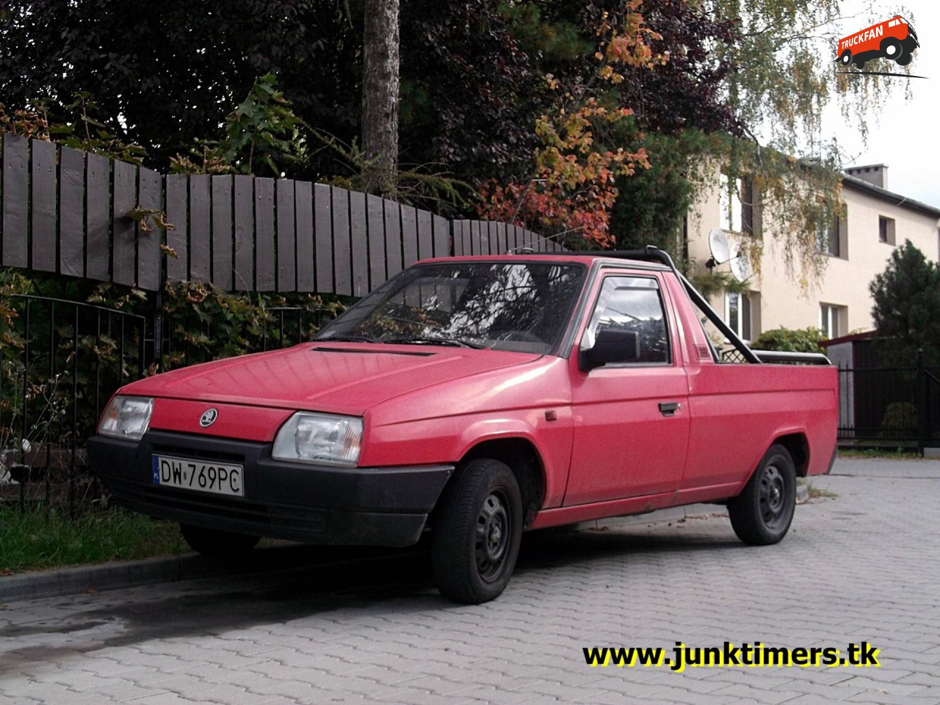 Skoda Favorit pick up