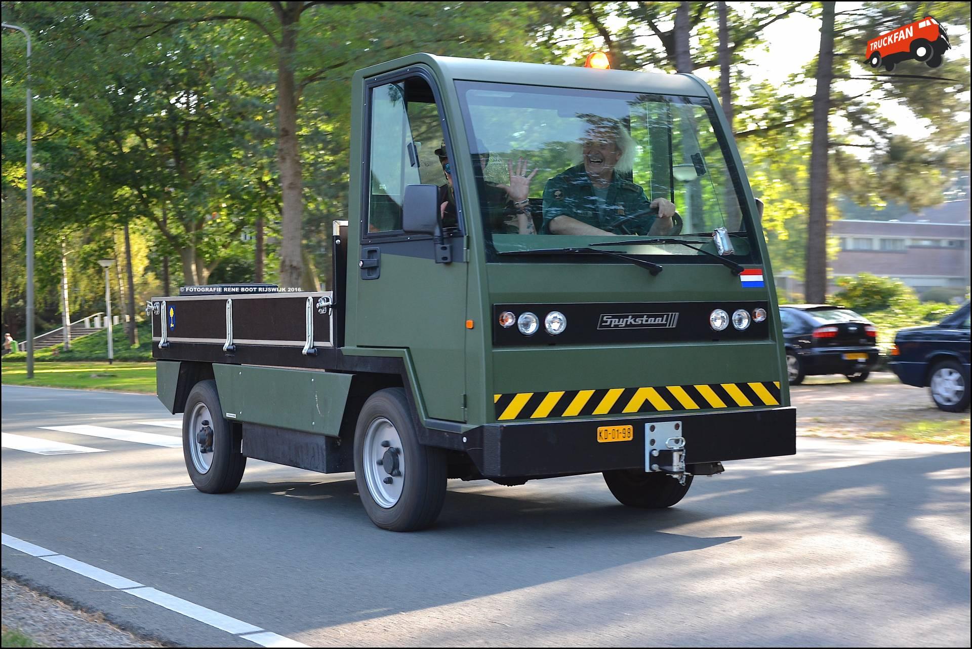 Spijkstaal elektrische truck