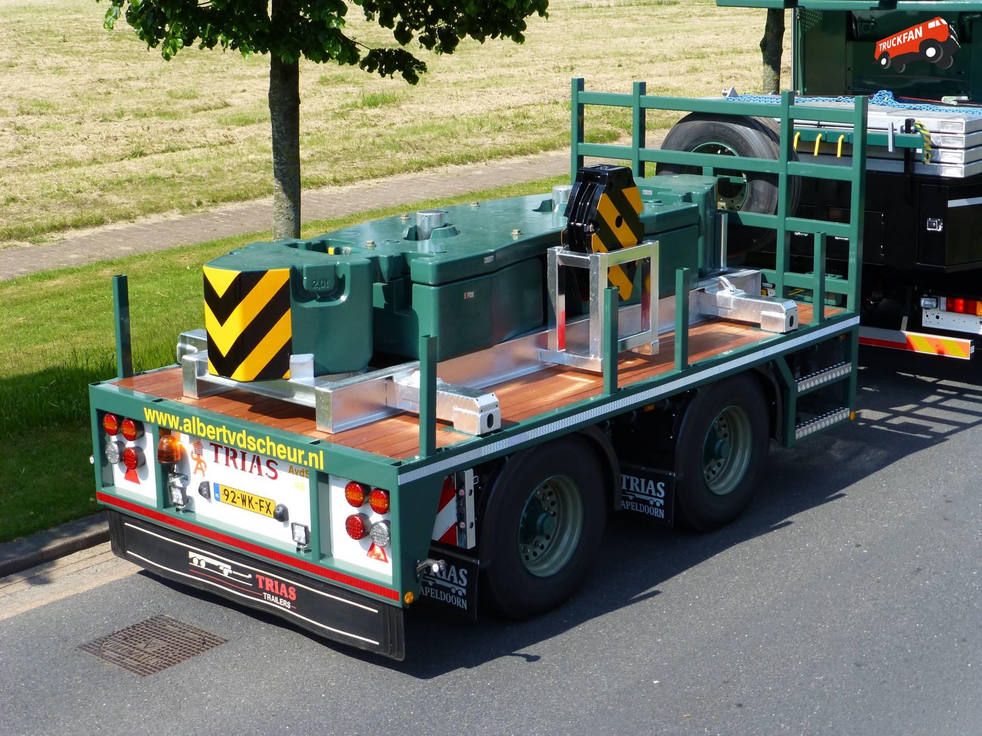 Trias ballastwagen