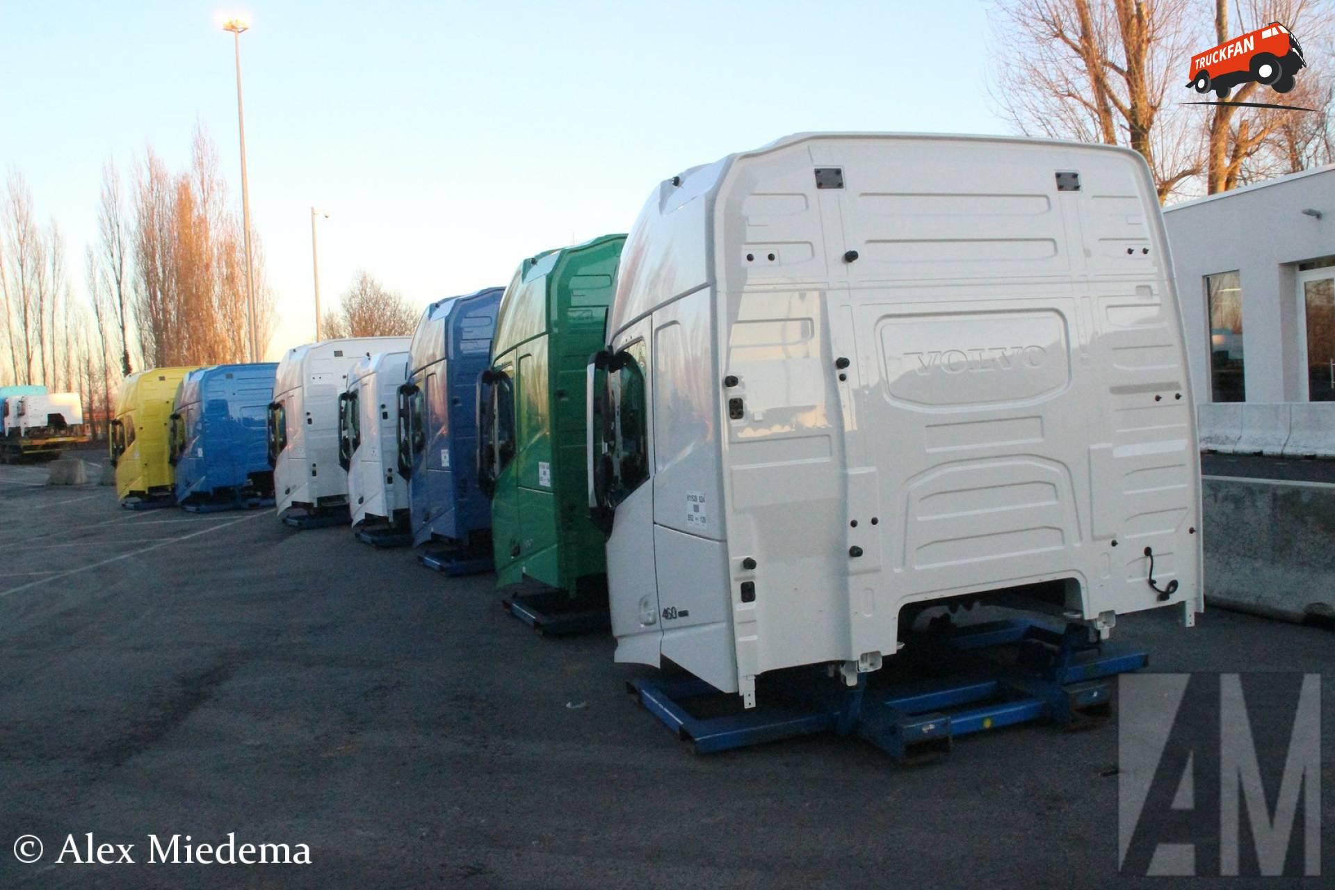 Volvo cabine