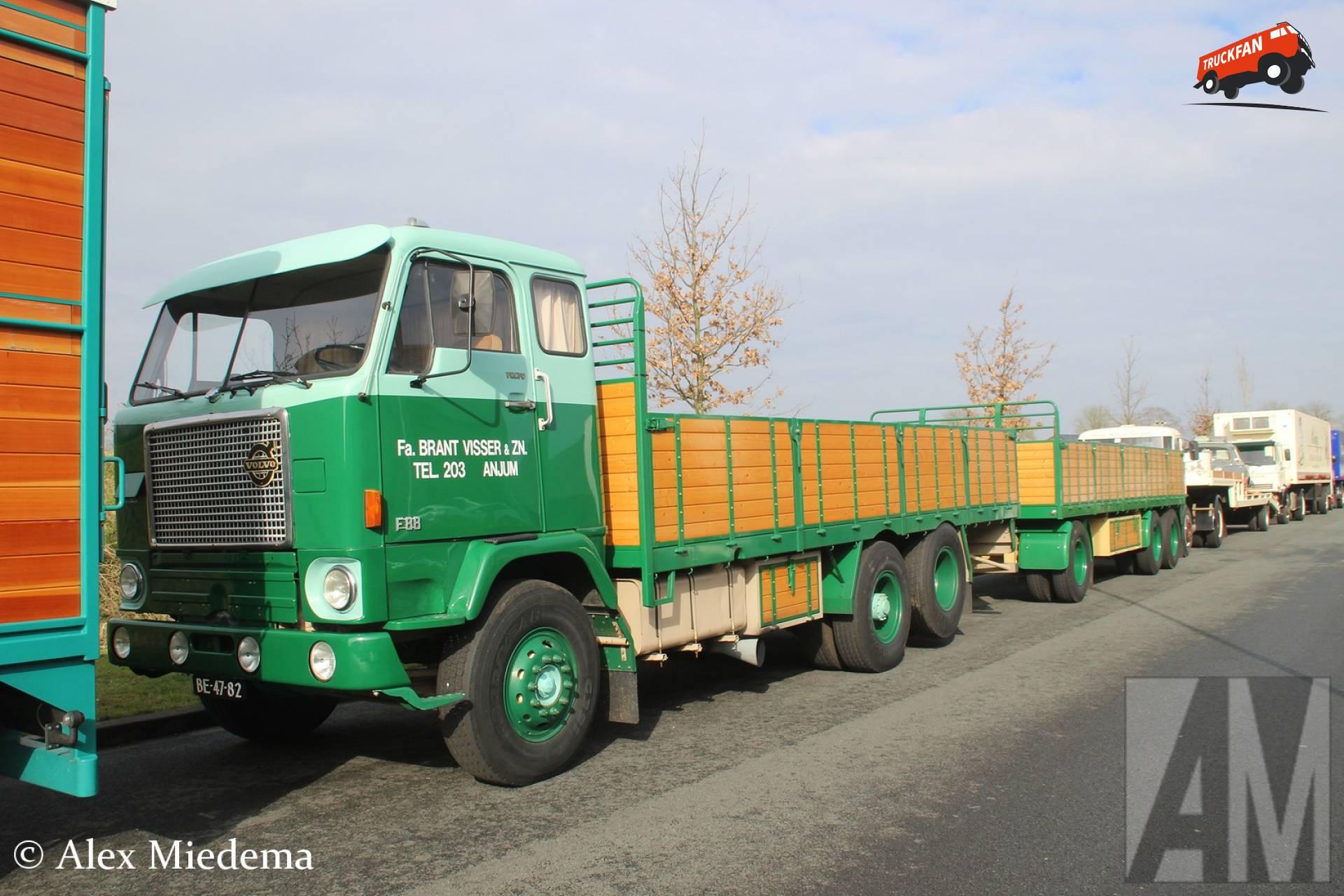 Wonderlijk Foto Volvo F88 van Brant Visser en Zonen B.V. - TruckFan II-55
