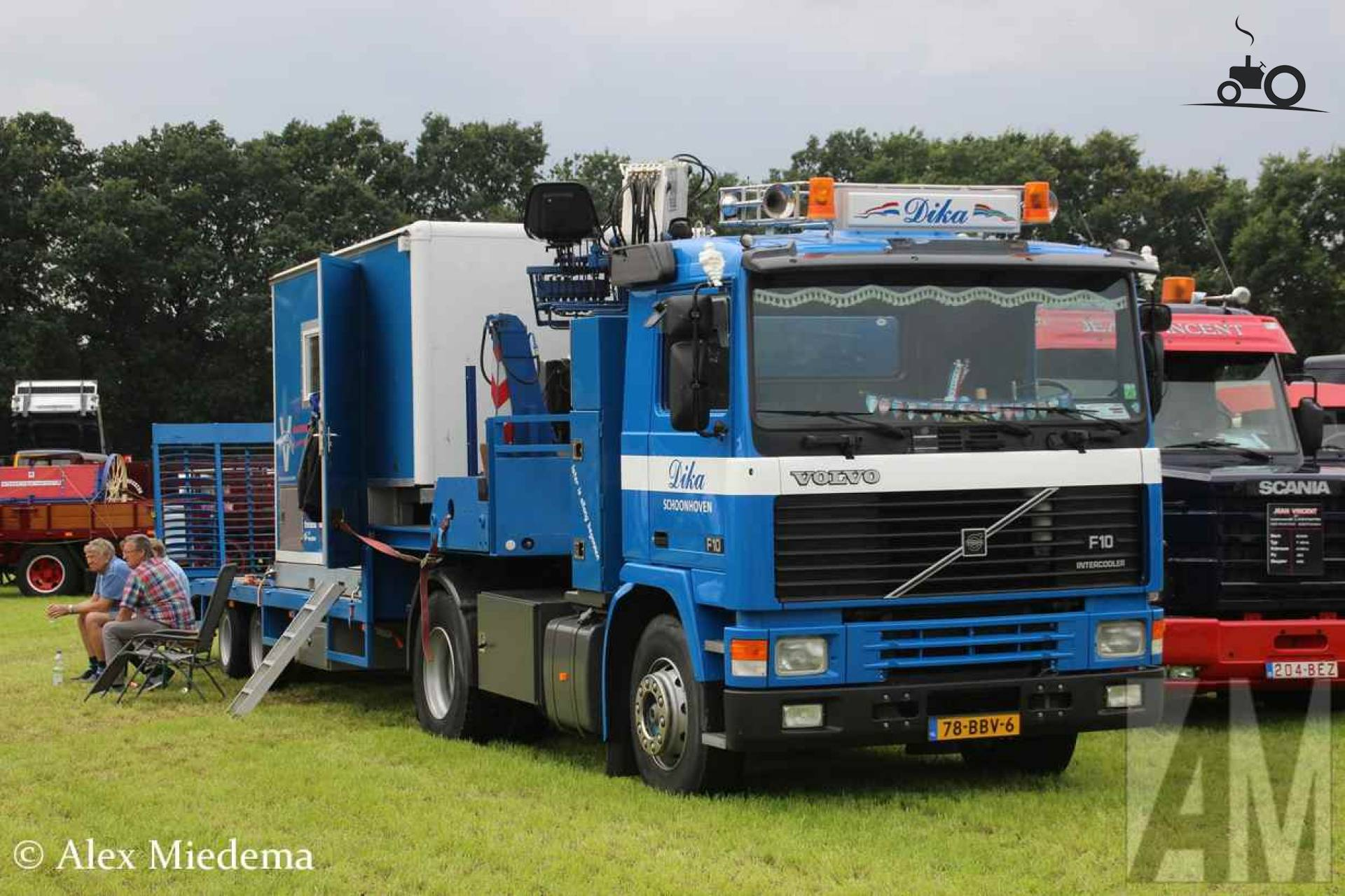 volvo 39 s bij oldtimer truckshow stroe alex miedema. Black Bedroom Furniture Sets. Home Design Ideas