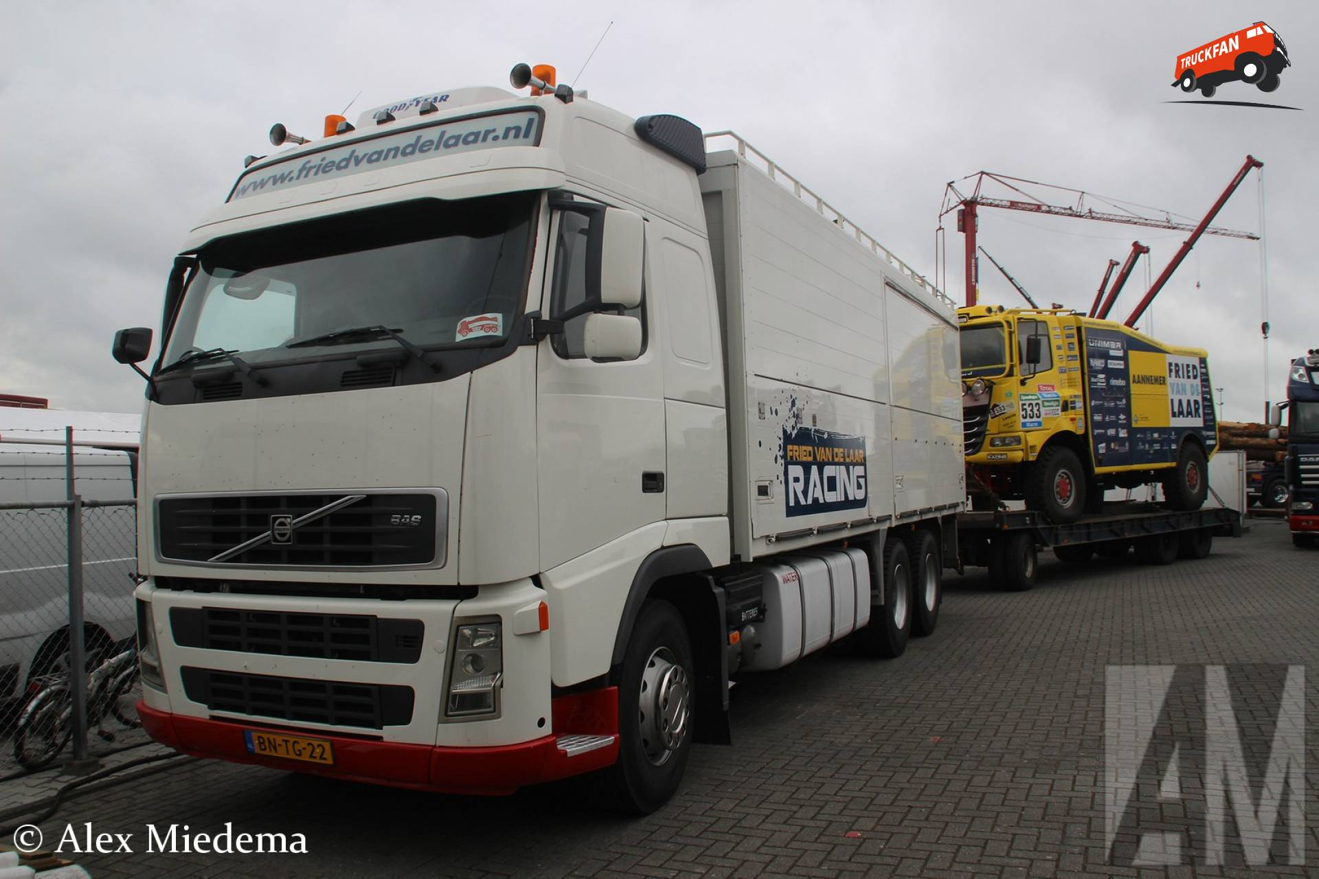 Team Fried van de Laar - Volvo FH 2nd gen