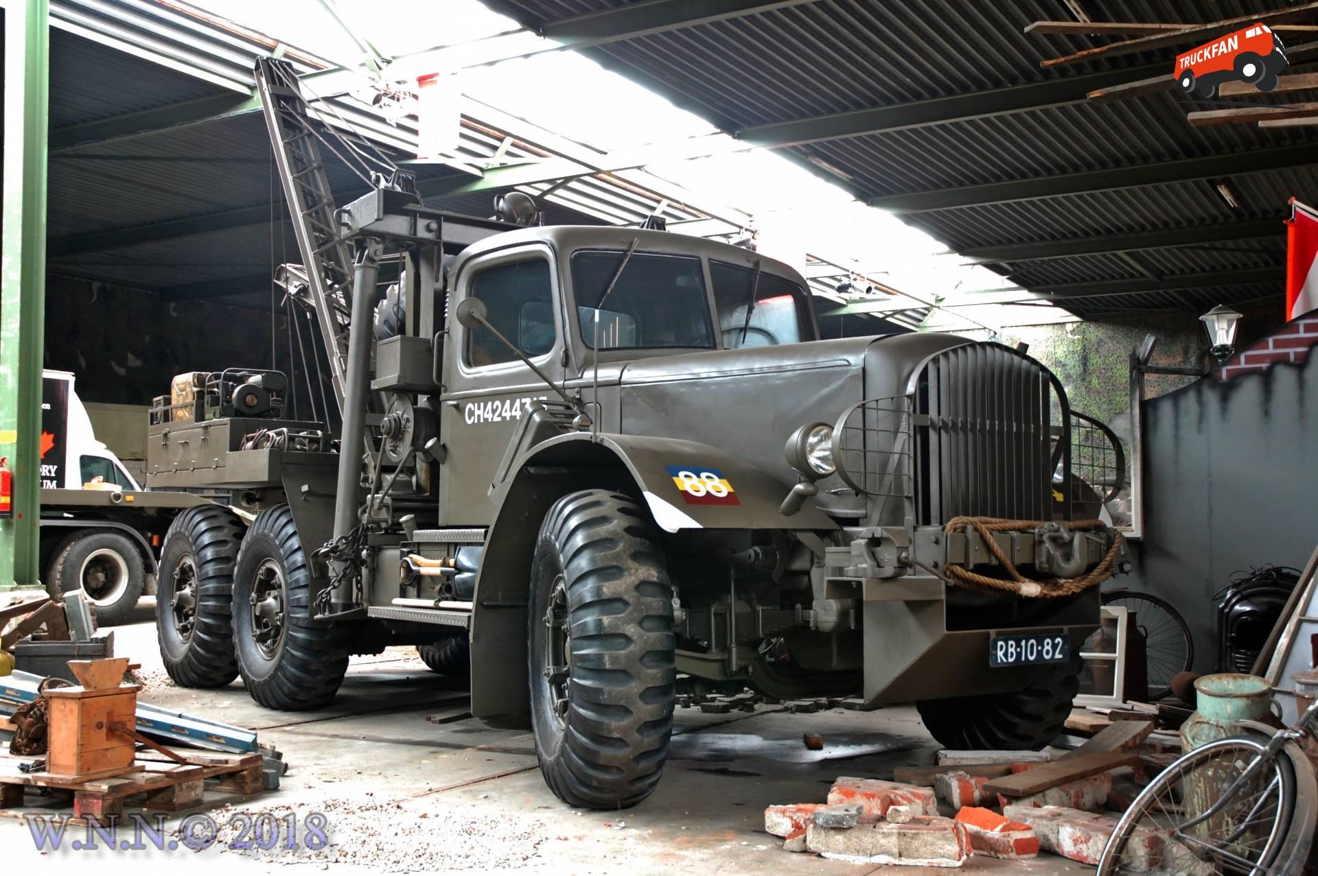 vrachtwagen Mack