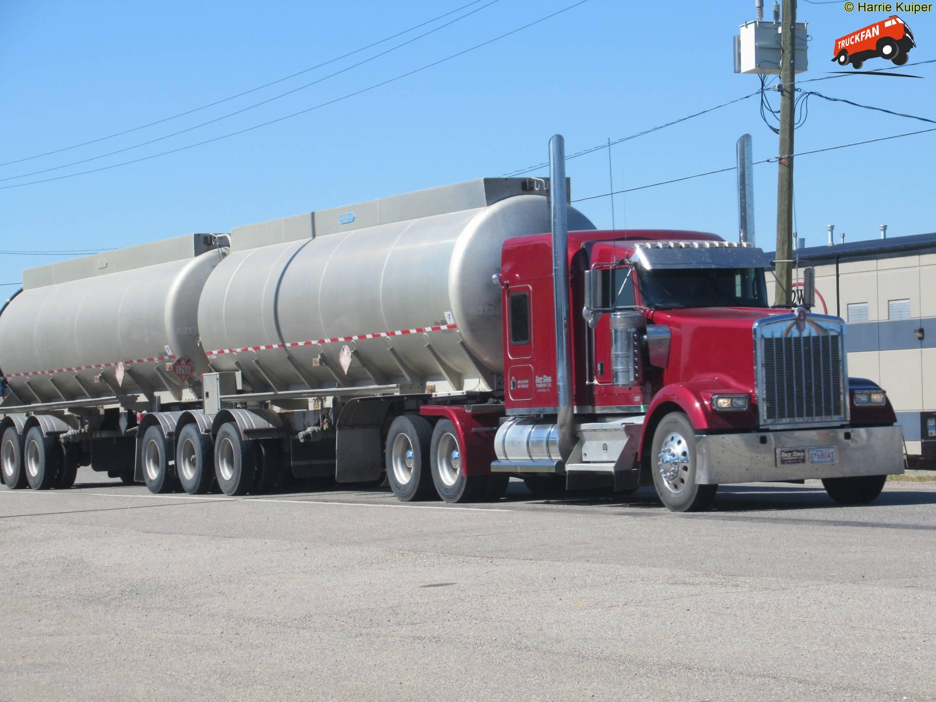 vrachtwagen Kenworth