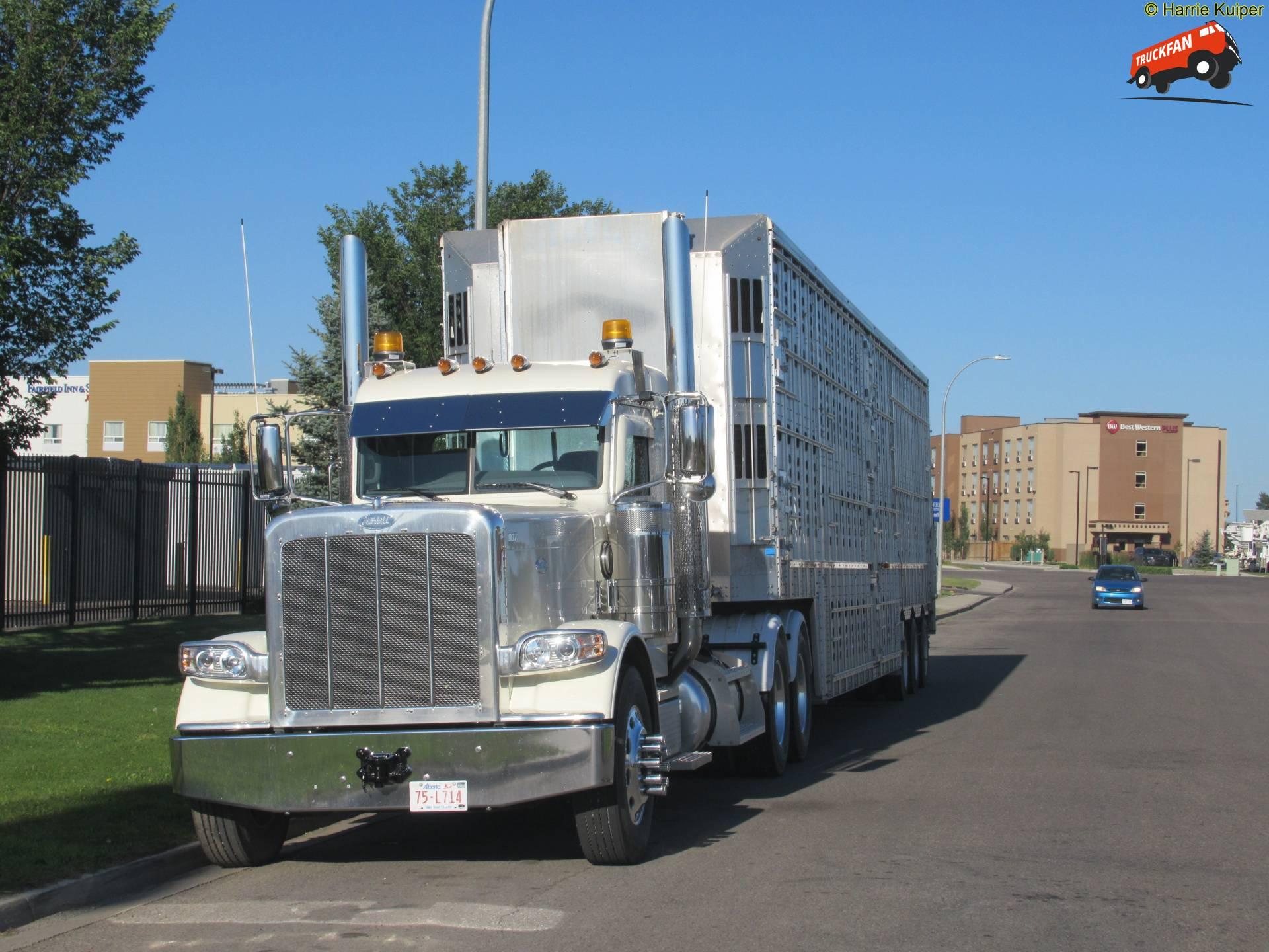 vrachtwagen Peterbilt