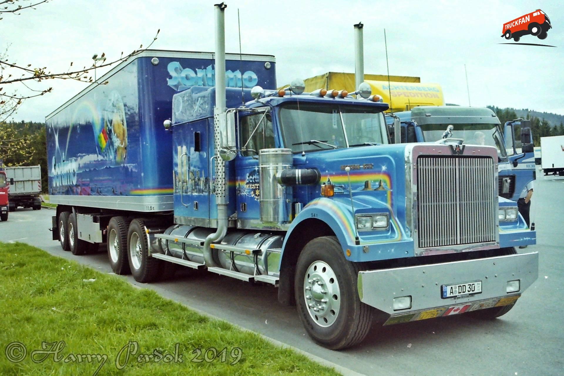 vrachtwagen Western Star