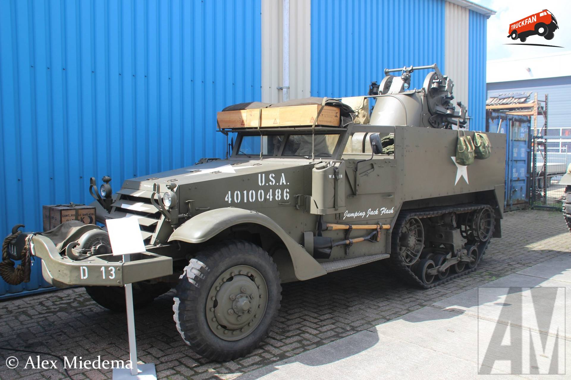 White M3 halftrack