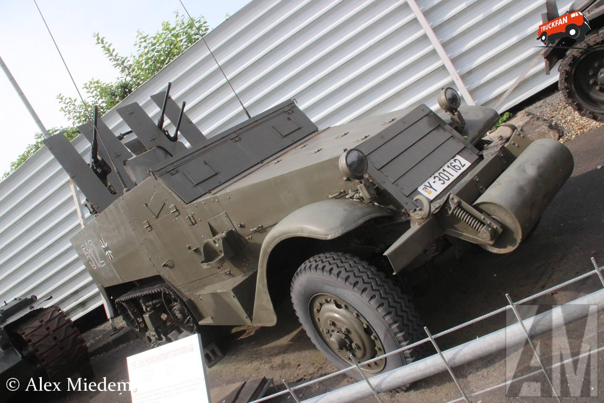 White M16 halftrack