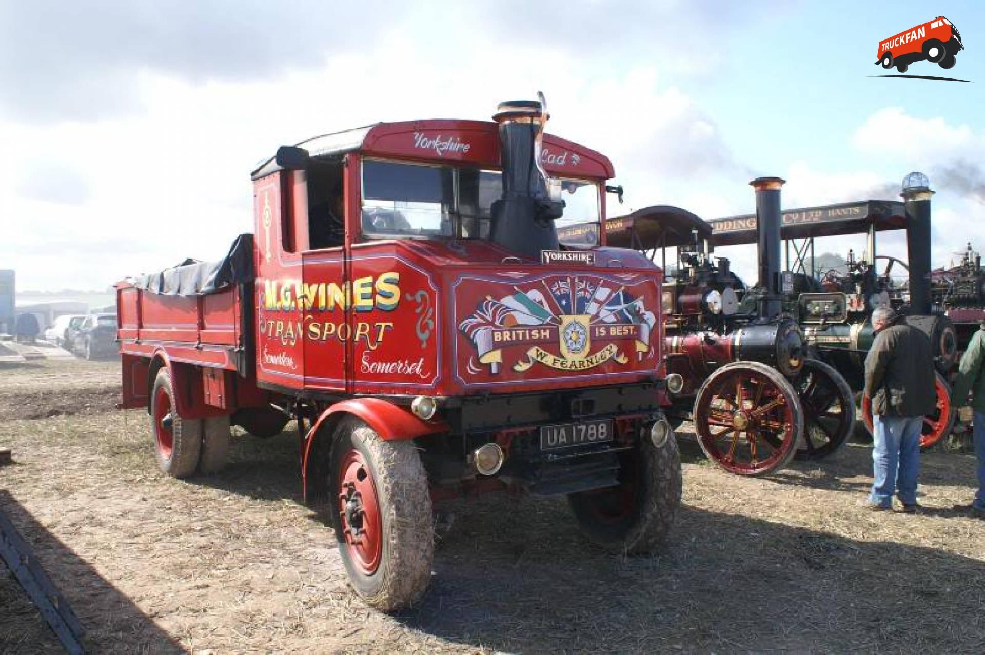 Yorkshire stoomtruck
