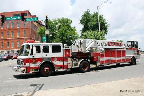 American LaFrance brandweerwagen, foto van JaKo