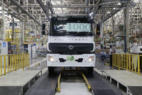 Bharat-Benz onbekend/overig, foto van Truckfan Nieuwsposter