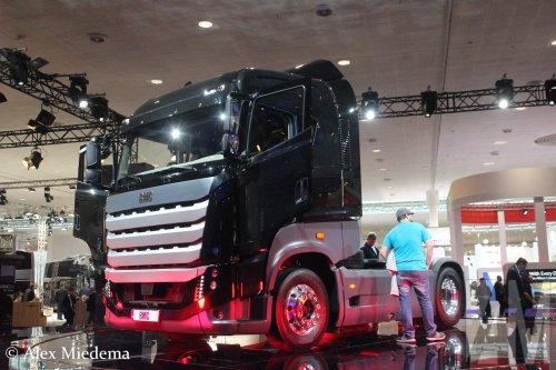 BMC Tugra (vrachtwagen), foto van Alex Miedema