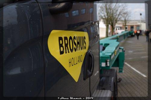 Broshuis oplegger, foto van Hans Kramer