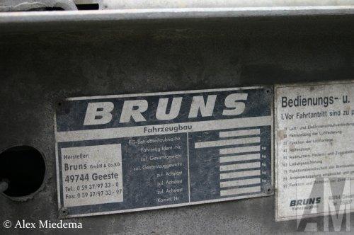 Bruns aanhangwagen (getrokken materieel), foto van Alex Miedema