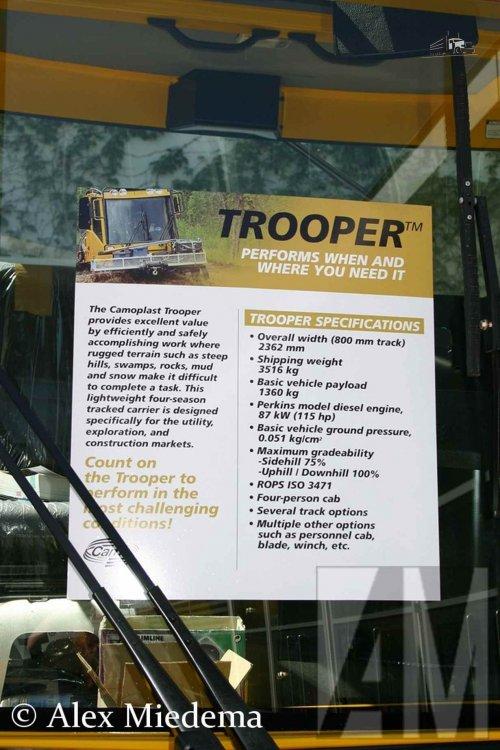 Camoplast Trooper, foto van Alex Miedema