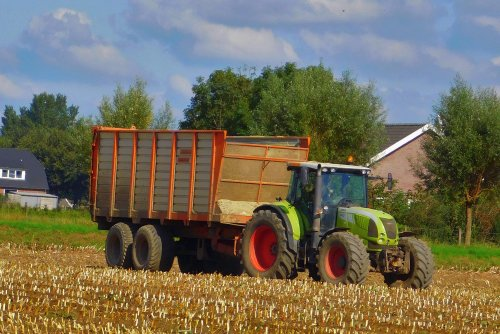 Claas Arion 640, foto van Martin Holland