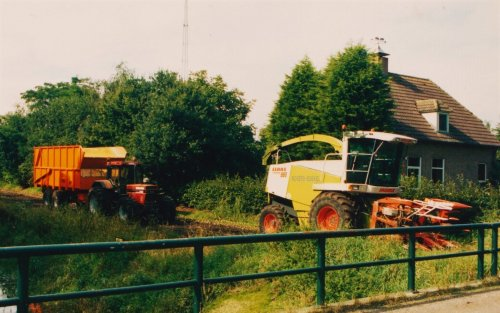 Claas Jaguar 880, foto van Martin Holland