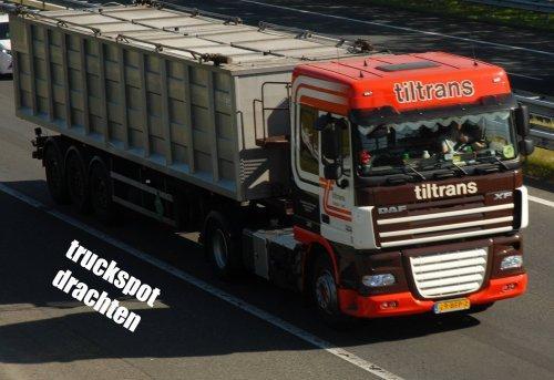 DAF XF105, foto van truckspot-drachten