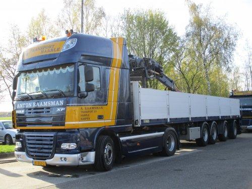 DAF XF105 (vrachtwagen), foto van Marco Breuker