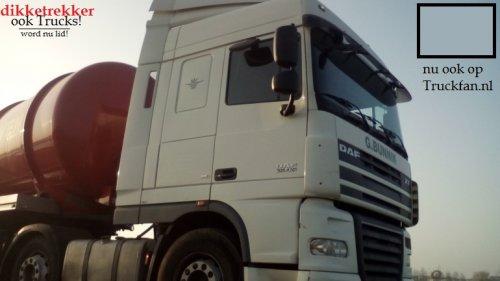 DAF XF105 (vrachtwagen), foto van dikketrekker