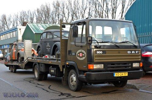 DAF 800 van bernard-dijkhuizen