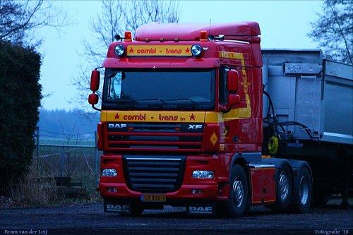 DAF XF105, foto van Bram van der Leij