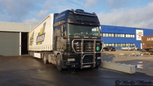 DAF XF105, foto van MartijnM71