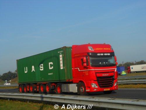 DAF XF Euro 6, foto van arjan-dijkers