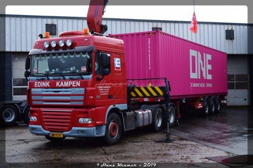 DAF XF105, foto van Hans Kramer