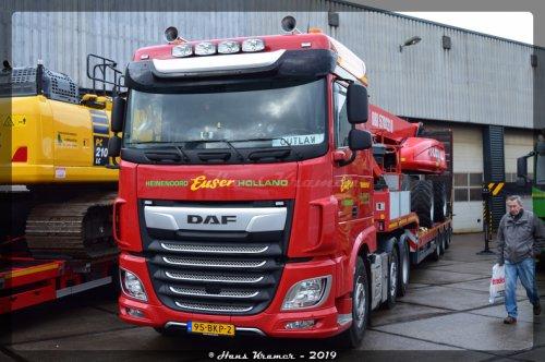 DAF XF Euro 6, foto van Hans Kramer