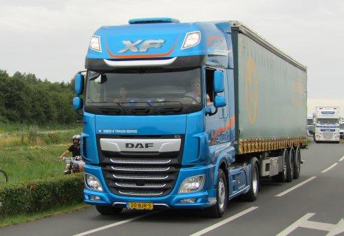 DAF XF Euro 6, foto van Lucas Ensing