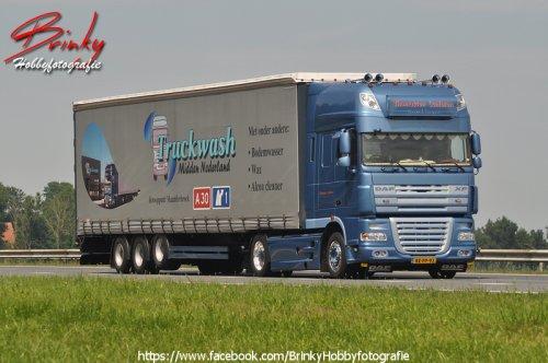 DAF XF105, foto van Wim van den Brink