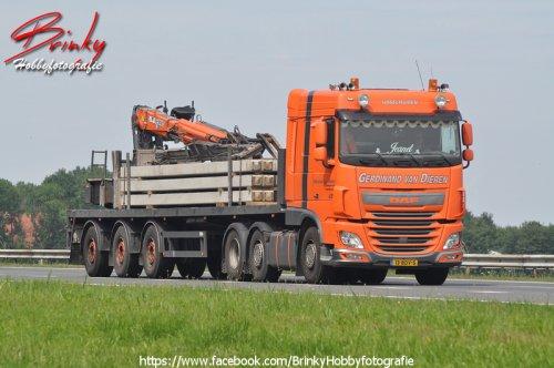 DAF XF, foto van Wim van den Brink