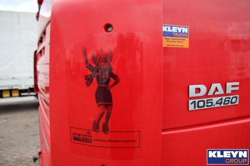DAF XF105, foto van Katy Kleyn