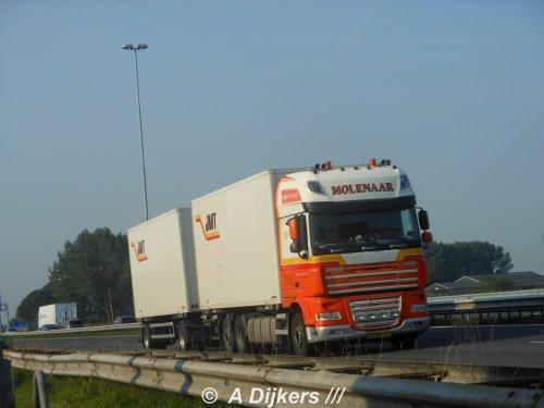 DAF XF105, foto van arjan-dijkers