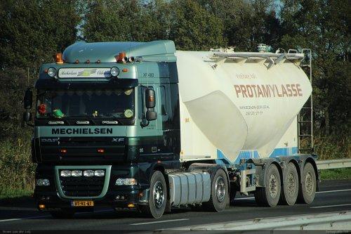 DAF XF, foto van Bram van der Leij